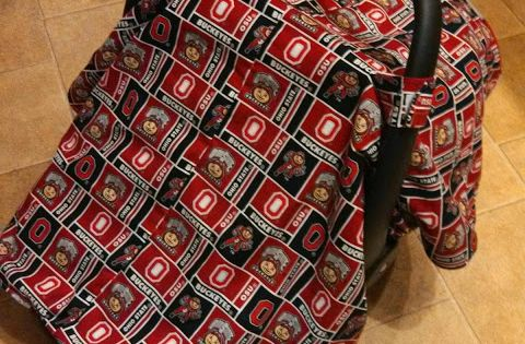cuddlebumm ohio state baby car seat cover cuddlebumm pinterest ohio. Black Bedroom Furniture Sets. Home Design Ideas