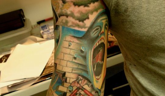 Pink Floyd Tattoo Duhh: Creative Stoner Tattoos (Photo Gallery)