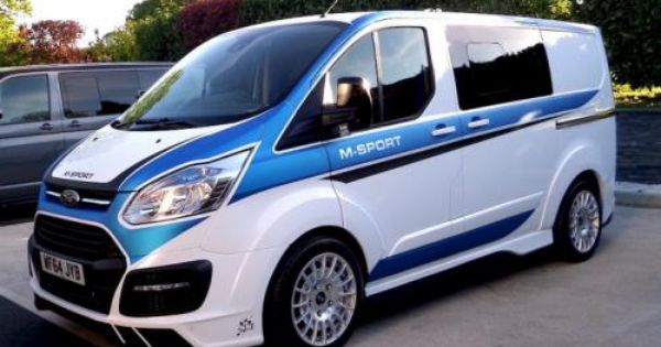 Wrc Inspired Ford Transit By M Sport Revealed Ford Transit Transit Custom Van