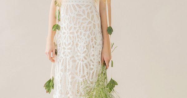 Robe de mariée bohème vintage - Robe: Rue de Seine, modèle Violet ...