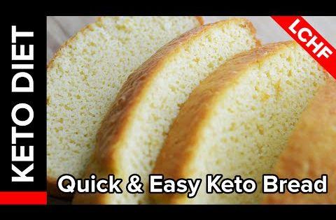 Keto Diet Recipe - Quick & Easy Keto Bread | Keto Babe Rocks - YouTube | Keto lifestyle ...