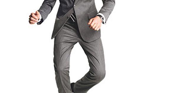 Grey Suit, Slim Fit, GQ Magazine, Men's Fashion, Men's Style, Men's Clothing