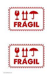 Etiquetas De Frágil Para Tus Envíos Transporte Envios Plantillas Etiquetas Etiquetas Para Imprimir Plantillas Imprimibles
