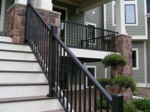 Aluminum Railing Aluminum Porch Railing Decks Outdoor