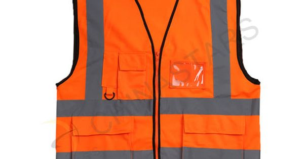 Yellow Reflective Vest With Multifunctional Pockets More Convenience For Work Safety Vest Reflective Vest Vest