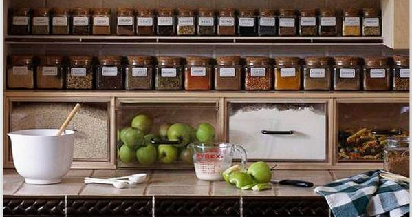 Kitchen Storage Solutions This post is filled with great ideas. Love the
