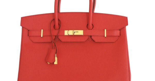 faux hermes - hermes birkin bag 35cm bougainvillea epsom gold hardware ...
