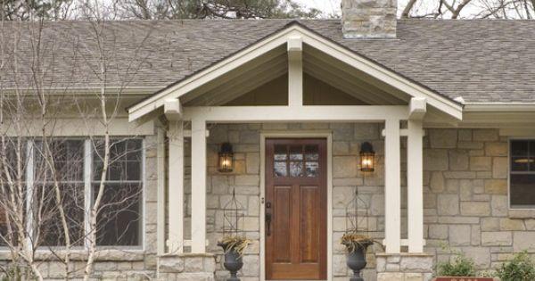 Best Gable Over Door Porches And Decks Pinterest Doors 400 x 300