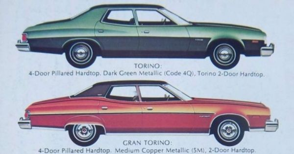 Curbside Classic 1975 Ford Gran Torino Isolation Chamber Ford Torino Ford Ford Fairlane