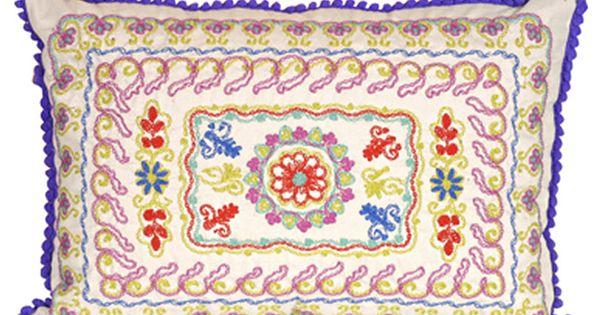 Almohad n bohemina beige decoracion hogar hippie for Decoracion hogar hippie