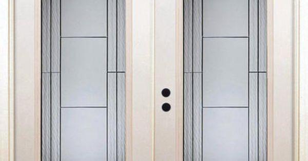 Mastercraft 72 X 80 Steel Full Lite French Patio Door W Zinc Acc