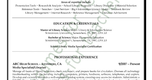 Sample Resume For Library Assistant: 24 Library Assistant Resume Free Template 2