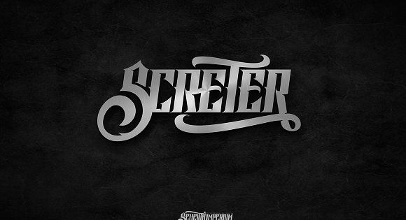 Screter is a fresh blackletter typeface with progressive edge