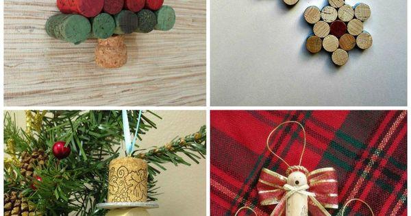 Decoraci n de navidad con corchos navidad corchos y ideas for Decoracion con corchos