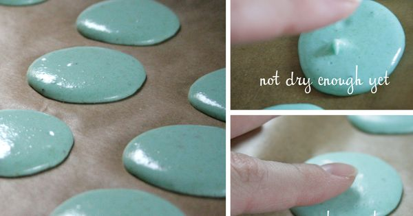 Tips for making the perfect macarons, not the weird things that come