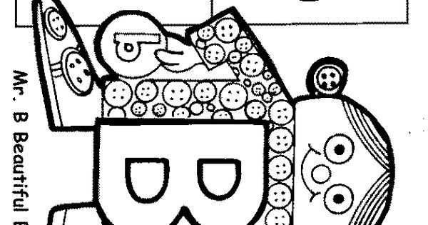 Letter People Coloring Pages