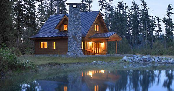 lindal cedar homes small home plan the chalet banff