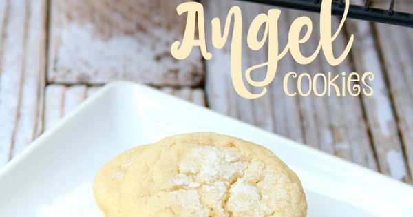 Angel Cookies | Nap times, Snow and Glaze