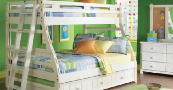 Rooms To Go Creekside White Wash Twin Bedroom Collection White Bunk Beds Kid Beds Bunk Beds