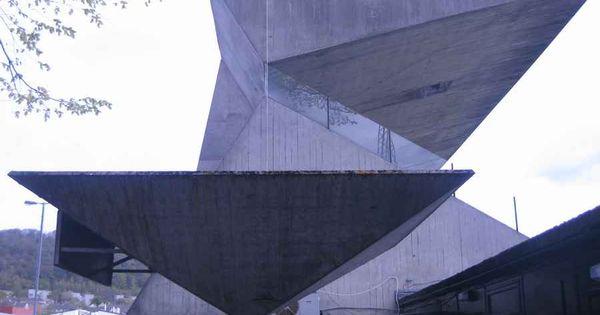 Modern Architecture Scotland fairydean stadium, galashiels, scotland 1965 peter womersley