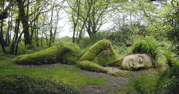 Located on Woodland Walk, in the Lost Gardens of Heligan, is an