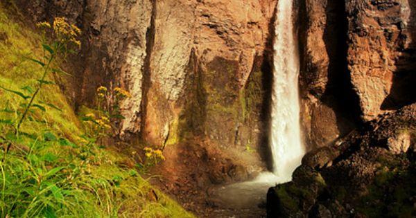 Tower Falls Yellowstone National Park / Tim Howard - Love waterfalls!!