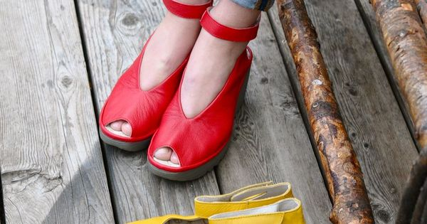 Fly London Yaya Works For Bunions Comfortable Shoes