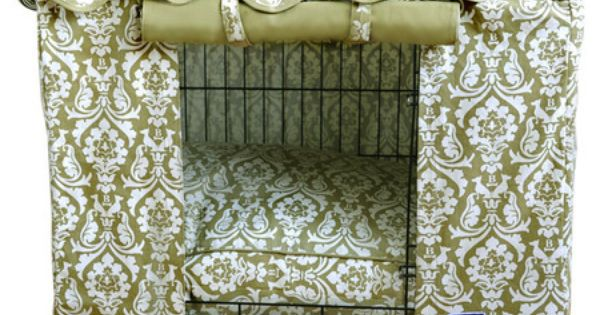 dog crate cover DIY idea - great idea; too bad Pita doesn't