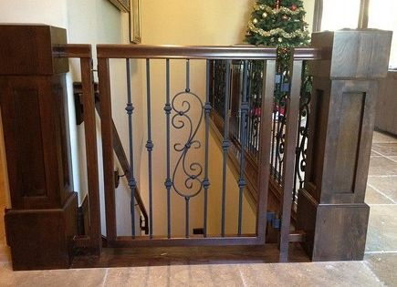 Custom Made Stair Gates Pictures - http://www.sbadventures.com/custom-made-stair-gates-pictures/ : StairDesigns Learn more about