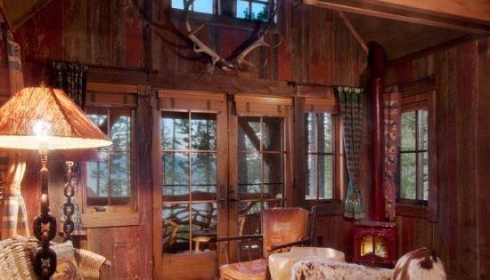 think shabby fantastic lodge cabin style living room. Black Bedroom Furniture Sets. Home Design Ideas