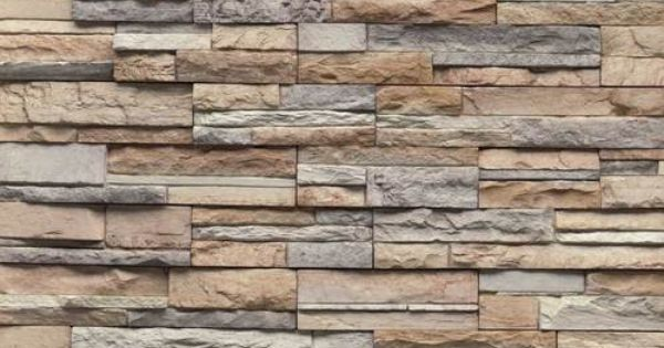 Daltile Chiseled Ready Stack Manufactured Stone Mystic
