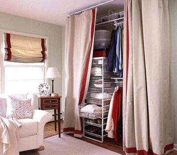 Clothes Closet Organization Solutions Hidden Storage