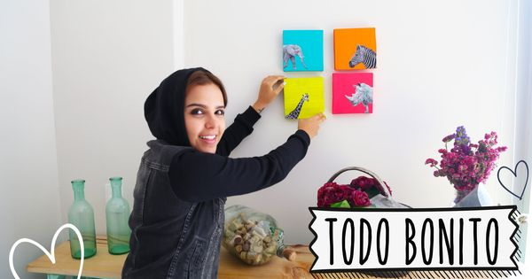 Pon bonita tu pared con las ideas de las fotos en video - Decoracion de paredes con fotos ...