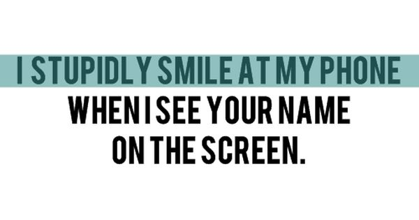 So true, i miss seeing your name popping up on my phone!