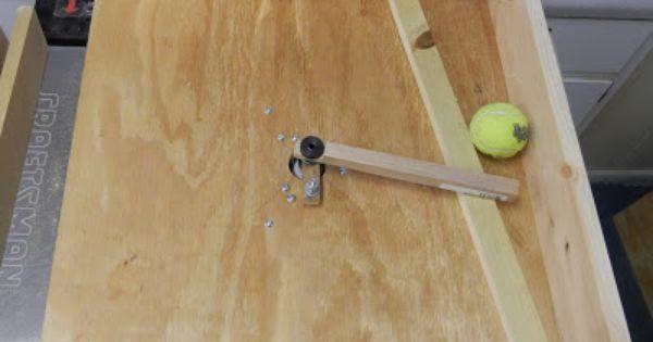 Diy Automatic Dog Ball Thrower Ball Launcher Diy Dog Stuff Dog Ball