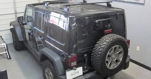 Jeep Wrangler Unlimited Thule Podium Square Bar Base Roof Rack