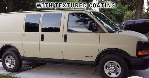 Video Diy Painting A Camper Van With Raptor Bed Liner Van Life Diy Bed Liner Camper Van
