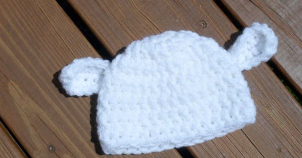 Crocheted baby hats, Babies and Lamb on Pinterest