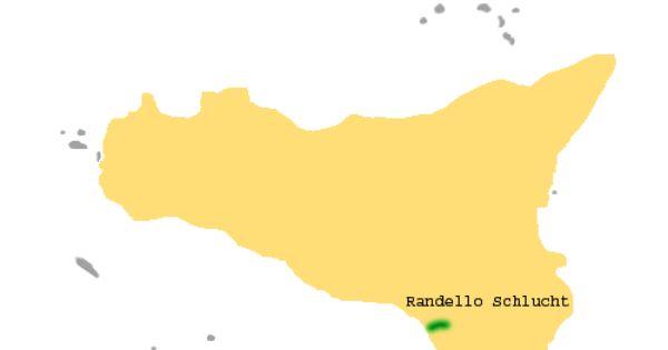 Randello Schlucht Sizilien