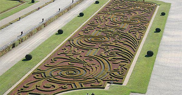 Le Notre Jardin A La Francaise Historical Landscape Garden Art