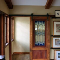 Stained Glass Barn Door Glass Doors Interior Glass Barn