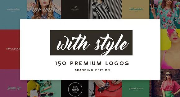 150 Premium Logos – Branding Edition with style