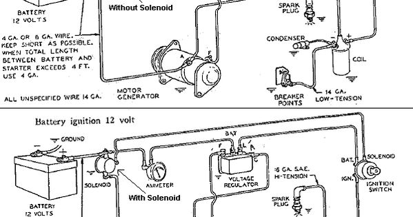 small engine starter motors  electrical systems  diagrams