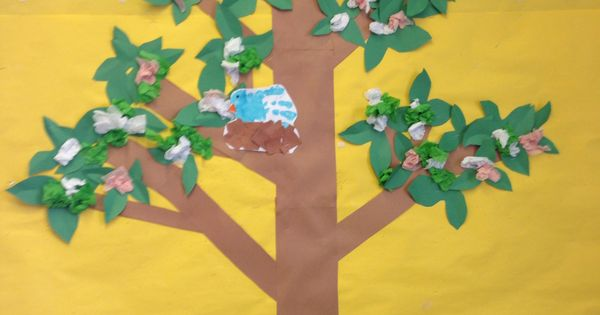 Spring Tree Bulletin Board Bulletin Board Ideas