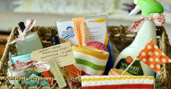 Wedding Gift Amounts: The Homemakers Wedding Gift Basket Idea For Under $25