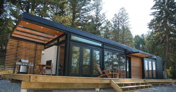 plain prefab cabins on architecture with ideas cabin design pinterest cabin prefab home. Black Bedroom Furniture Sets. Home Design Ideas