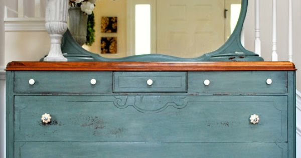 Milk Paint Dresser- color idea