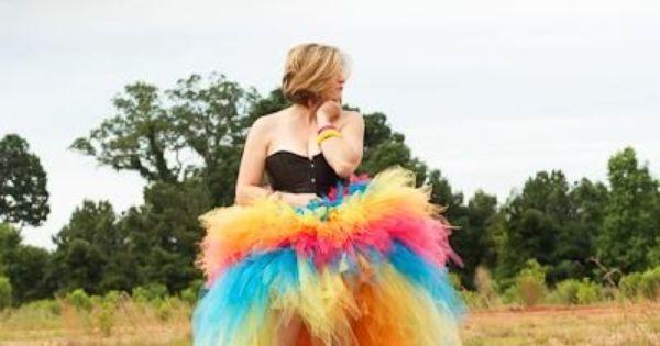 Mom Prom - Big Girl Version; Adult tutu dress; costume ... - photo#5