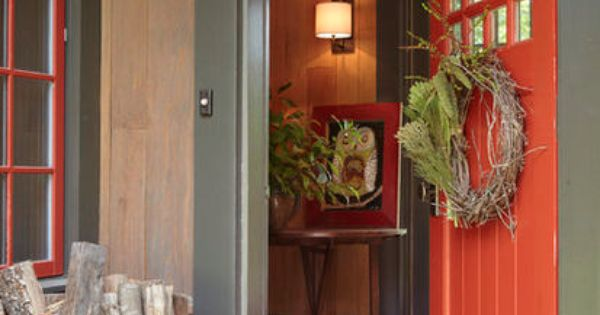 Burnt Orange Door Home Pinterest Doors And Orange Door