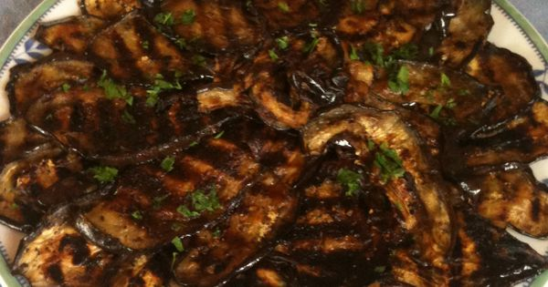 Grilled eggplant and Eggplants on Pinterest